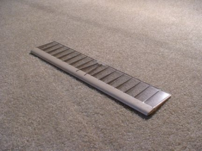 Tailplane, clear mylar covered 3.0 sq.dm.