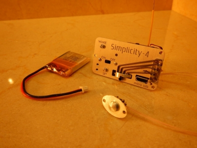 Simplicity Electronic timer without Altimeter