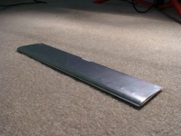 Tailplane, silver mylar covered 3.0 sq.dm.