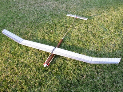 Electronic F 1 B ready to fly Model, 152 cm span
