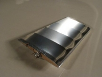 Fin, silver mylar covered