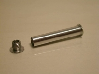 Rear Peg for 32 mm Tube - 6 mm dia 30.5 mm long